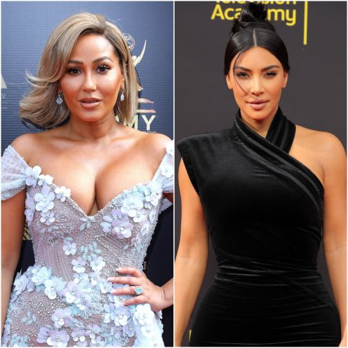 Adrienne Bailon Gets Glam Using Kim Kardashian's Latest KKW Beauty Collection: Watch!