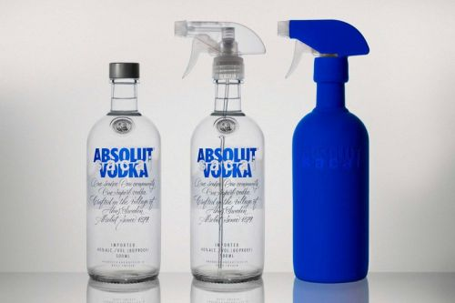 Absolut and sacai Come Together for Limited Edition Bottle Set