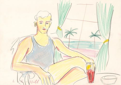 The Artist Imagining the Adventures of the 1920s' Bright Young Things