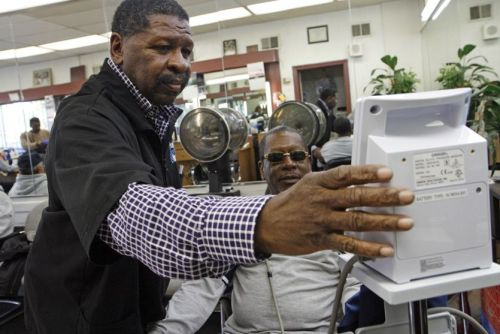 Los Angeles Barbershops Help Reduce High Blood Pressure
