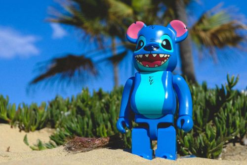 BAIT & Medicom Toy Debut a Stitch 400% BE RBRICK for Comic Con