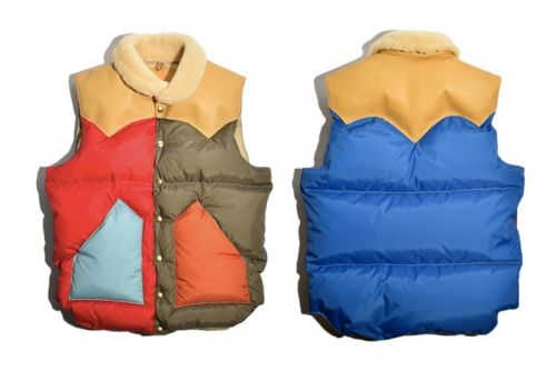 Rocky Mountain Featherbed & MOONLOID Link up on a Bold Multicolored Vest