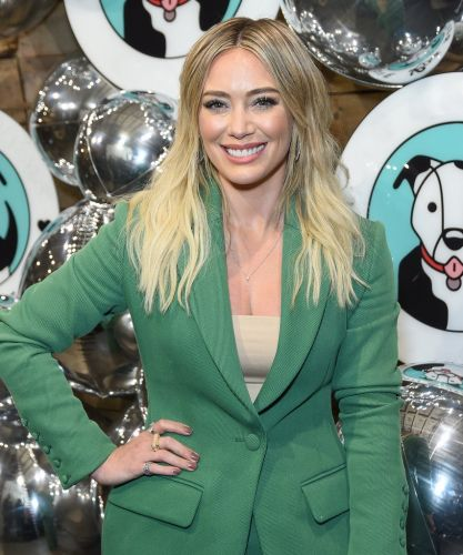 Hilary Duff's Messy Milkmaid Braid Is Perfect For Party Season