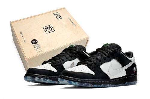 """Nike's SB Dunk """"Panda Pigeon"""" to Be Packaged in Special Wooden Box"""