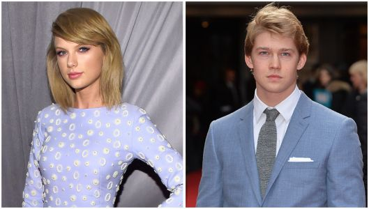 Taylor Swift and Joe Alwyn Couldn't Hide From Photographers at the 2017 Jingle Ball