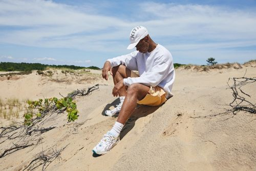 "KITH Spotlights Upcoming ""Oasis"" Capsule Collection & Collaborative ASICS in Beach-Side Campaign"