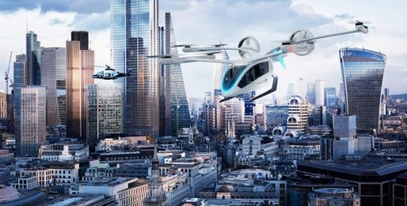 Eve Flying Taxi Aims For New York Take-off in 2026