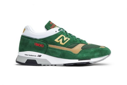 New Balance Dresses 1500 in Athletic Club-Inspired Green & Gold