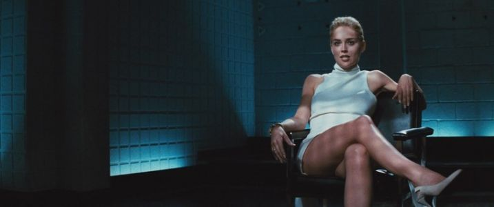 Unpicking the icy cool style of Sharon Stone's Basic Instinct femme fatale