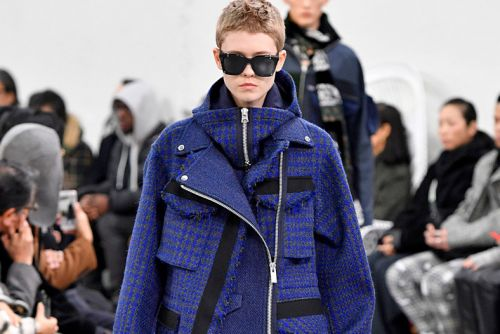 Sacai Plays With Texture and Volume for FW19
