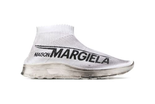 Maison Margiela's New Sock Sneaker Boasts Big Logos