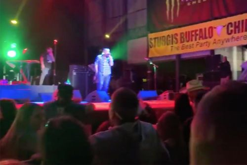 'F-k that COVID shit!': Smash Mouth plays to thousands of bikers at rally