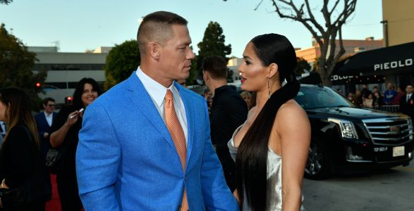 Nikki Bella Reveals She Is Holding on to Her Wedding Dress in Hopes of Getting Back Together With John Cena