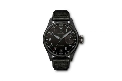 """IWC Introduces Big Pilot's Watch in Smooth """"Black Carbon"""" Edition"""