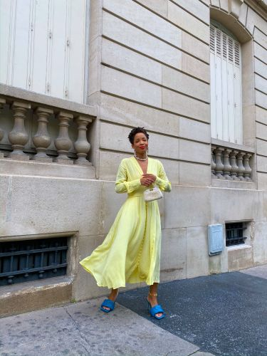 This Parisian Wears Color 300 Days a Year-Here Are Her Top Fall Trends
