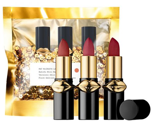 Pat McGrath LUST Mini MatteTrance Lipstick Trio in Skin Show at Sephora