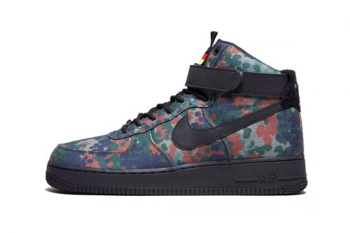 """Nike Air Force 1 High """"Country Camo"""" Adds a Subtle German Touch"""