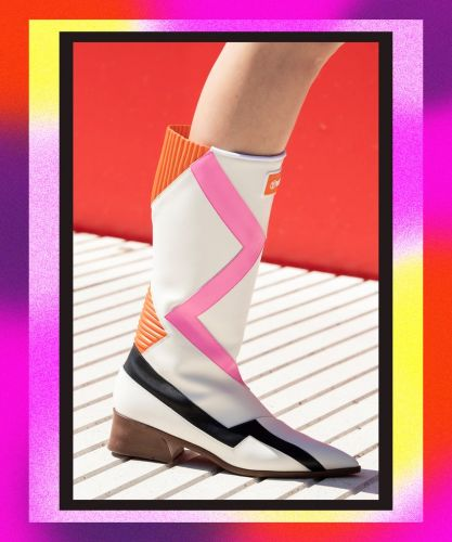 Louis Vuitton's Latest Show Featured A Futuristic Take On The Cowboy Boot