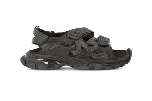 Balenciaga's Track Sandal Now Comes in Matte Black