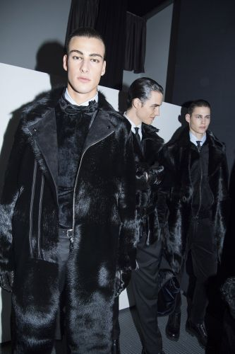 We Are Streaming Giorgio Armani's AW18 Menswear Show Live At 11AM GMT