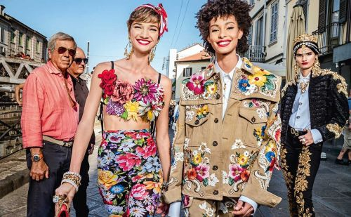 Dolce & Gabbana becomes the first luxury fashion house to extend sizes
