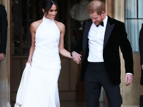 Now You Can Buy A Replica Of Meghan Markle's Reception Dress