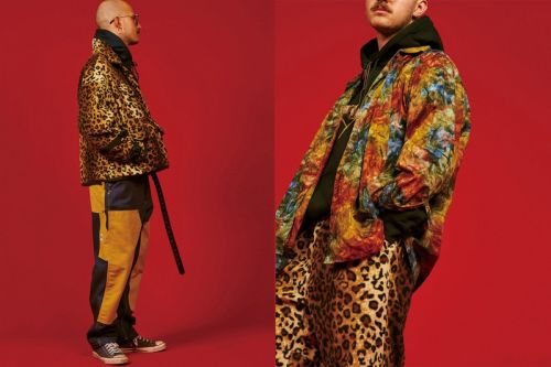 AïE's FW19 Collection Is Steeped in Vivid Patterns and Heavy Layering