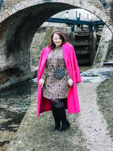 The Pink Coat Of Dreams & Knee-High Boots For Chunky Calves