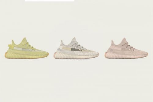 "The YEEZY BOOST 350 V2 ""Antlia,"" ""Lundmark"" & ""Synth"" Will Release Regionally"