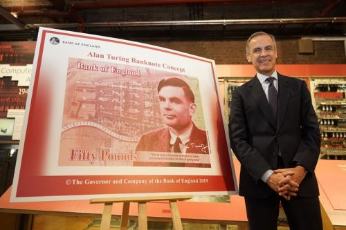 Alan Turing to Feature on New Bank of England £50 Note