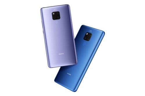 Huawei Unveils Four New Mate 20 Smartphones