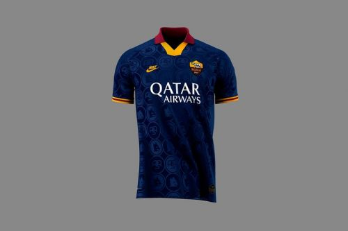 Nike & AS Roma Look to 1990s With 2019/20 Third Kit
