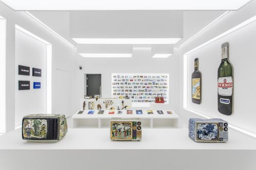 Gucci and Maurizio Cattelan Open 'The Artist Is Present' Exhibition in Shanghai