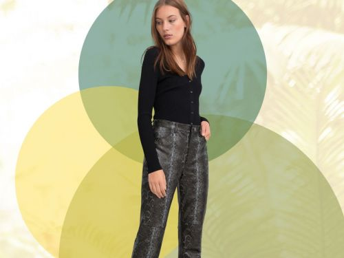 It's Official: Leather Pants Are Back & Better Than Ever