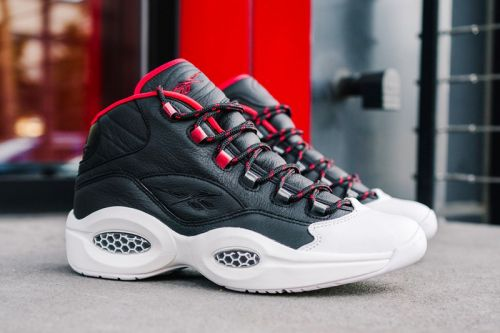 "Reebok Question Mid ""OG Meets OG"" Simultaneously Salutes Allen Iverson and James Harden"