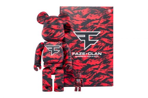 Red Tiger Camo Marks FaZe Clan's Medicom Toy BE RBRICKs