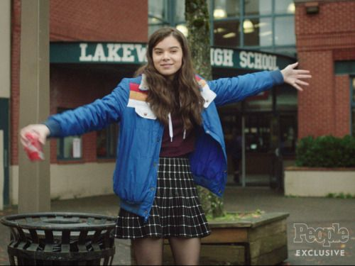 Hailee Steinfeld is having major high school drama in the first