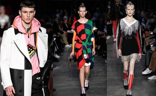 Colourful start to London Fashion Week as Brexit worries pervade