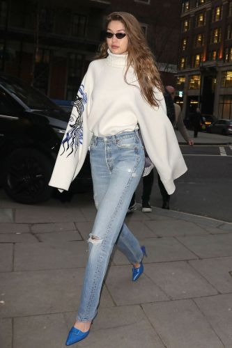 Gigi Hadid Found the Perfect $49 Heels to Wear With Jeans