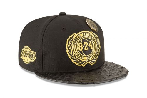 New Era and LA Lakers Celebrate Kobe Bryant's Career With Hat Capsule