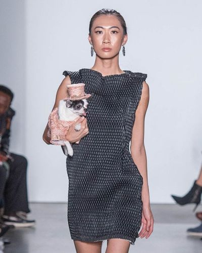 Rescued Dogs in Haute Couture During New York Fashion Week