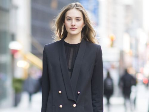 A VS Model Told Us Her Go-To Airport Outfit