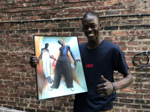 Alpha Dia shot with Tim Walker and has a Pirelli Calendar to prove it