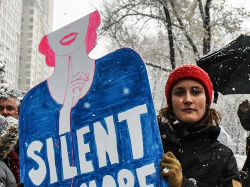 MeToo Rally Invites Survivors To Speak Out In Front Of Trump Tower In NYC