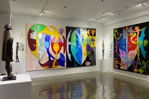 """Lance De Los Reyes Poses Visual Conversations in """"PAST is PRESENT is FUTURE"""" Exhibition"""