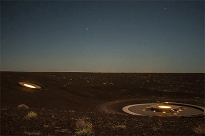 James Turrell has Built an Observatory in the Roden Crater