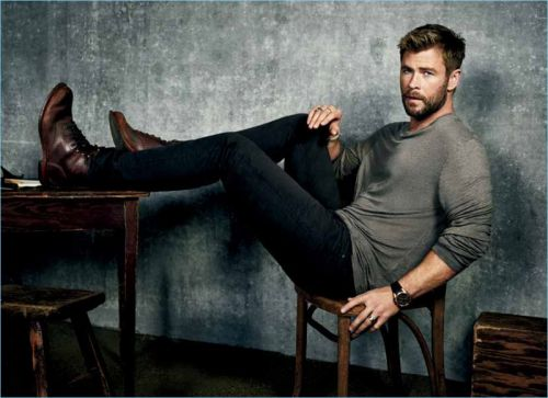 Chris Hemsworth Covers Men's Journal, Talks Dream Role
