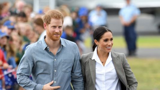 Meghan Markle Wore a Thing: Serena Williams Collection Blazer in Australia Edition