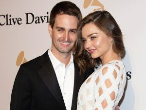Miranda Kerr Is Expecting A Baby With Husband Evan Spiegel