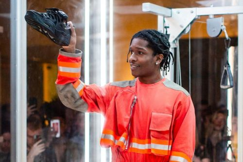 A$AP Rocky Unveils His Collaborative Under Armour Sneaker
